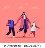 mother character bringing...   Shutterstock .eps vector #1810120747