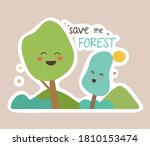 ecology colorful sticker.... | Shutterstock .eps vector #1810153474