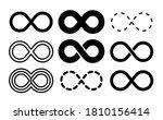 infinity symbol. mobius... | Shutterstock .eps vector #1810156414