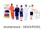 Hospitality Workers. Hotel...