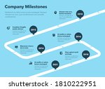 simple business infographic for ...   Shutterstock .eps vector #1810222951