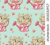 seamless pattern white flower... | Shutterstock .eps vector #1810232917