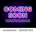 vector promo badge comic soon.... | Shutterstock .eps vector #1810237651