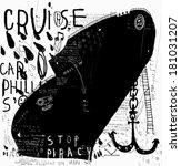 Symbolic Image Of A Ship To A...