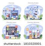 chemistry studying concept set. ...   Shutterstock .eps vector #1810320001