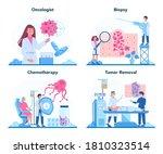 professional oncologist set....   Shutterstock .eps vector #1810323514