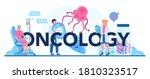 oncology typographic header.... | Shutterstock .eps vector #1810323517