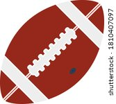 american football ball icon....