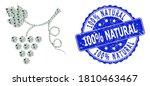 100  Natural Grunge Round Stamp ...