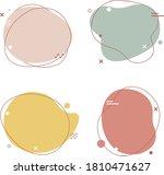 simple pastel speech bubbles...   Shutterstock .eps vector #1810471627