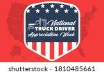 national truck driver... | Shutterstock .eps vector #1810485661