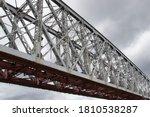metal section of the railway... | Shutterstock . vector #1810538287