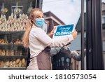Female Bakery Owner Wearing...