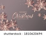 merry christmas banner with...   Shutterstock .eps vector #1810620694