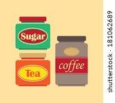 retro style illustration of... | Shutterstock .eps vector #181062689