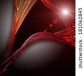 futuristic technology wave... | Shutterstock . vector #181062845