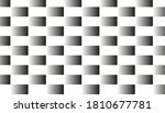 square pattern with black and... | Shutterstock . vector #1810677781