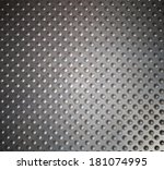 metal brushed shiny surface for ... | Shutterstock . vector #181074995