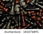 Chess Texture Pattern On A...
