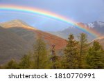 Beautiful Rainbow Over The...