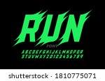 sport style font design ... | Shutterstock .eps vector #1810775071