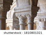Romanesque Columns In Ribeira...
