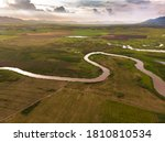 scenic landscape aerial view of ... | Shutterstock . vector #1810810534