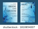 modern abstract luxury wedding... | Shutterstock .eps vector #1810854007