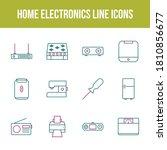 unique home electronics vector...   Shutterstock .eps vector #1810856677