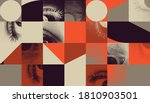 abstract geometric vector... | Shutterstock .eps vector #1810903501