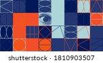deconstructed postmodern... | Shutterstock .eps vector #1810903507