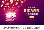 online casino gambling game... | Shutterstock .eps vector #1810936804