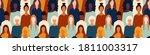 international seamless pattern... | Shutterstock .eps vector #1811003317