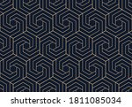 abstract geometric pattern with ...   Shutterstock .eps vector #1811085034