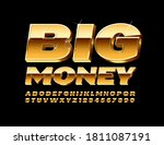 vector chic sign big money. 3d... | Shutterstock .eps vector #1811087191