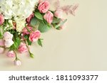 Bouquet Of Delicate Roses ...
