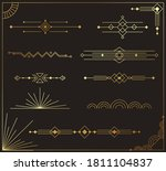 beautiful collection of modern... | Shutterstock .eps vector #1811104837