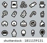 sugar or sugar food   drink... | Shutterstock .eps vector #1811159131