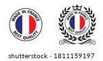 made in france   vector stamp.... | Shutterstock .eps vector #1811159197