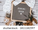 Coming Soon Sign. Baby...