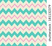 seamless chevron pattern in... | Shutterstock .eps vector #181132379