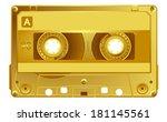 Vector Retro Audio Cassette....