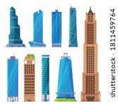 modern city business or...   Shutterstock .eps vector #1811459764
