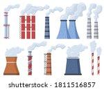 industrial chimney.... | Shutterstock .eps vector #1811516857
