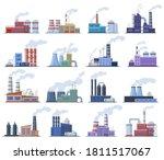 industrial factory.... | Shutterstock .eps vector #1811517067