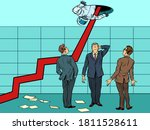 the concept of too rapid growth ... | Shutterstock .eps vector #1811528611