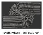 trendy abstract aesthetic...   Shutterstock .eps vector #1811537704
