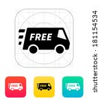 free delivery service icon. | Shutterstock . vector #181154534