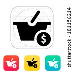 basket with price icon.