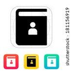 contact book icon.
